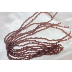 Crystal pm transparent marron ref ctp006