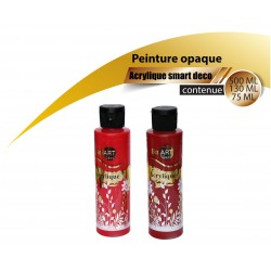 Arylique rouge Smart deco