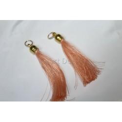 pompon en fil de soie grand taille ref pfs001