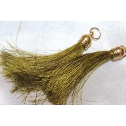 pompon en fil de soie grand taille ref pfs002