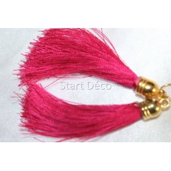 pompon en fil de soie grand taille ref pfs003