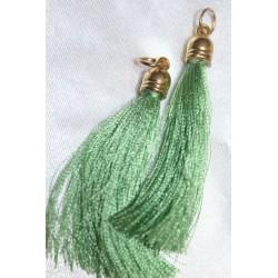 pompon en fil de soie grand taille ref pfs005