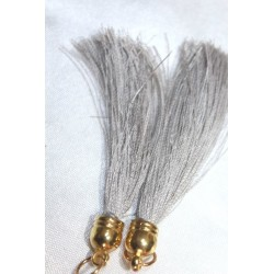 pompon en fil de soie grand taille ref pfs006