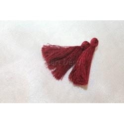 pompon en fil de soie petit taille ref pfs015